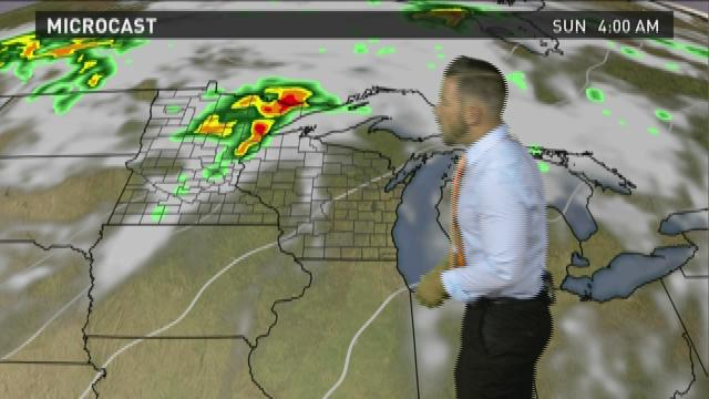 Wisconsin weather forecast for Friday, Sept. 4