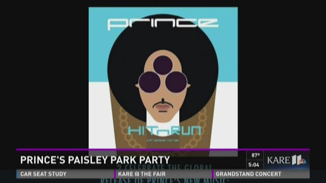 Prince's Paisley Park party