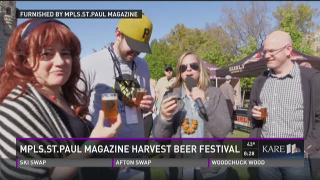Mpls.St.Paul Magazine Harvest Beer Festival