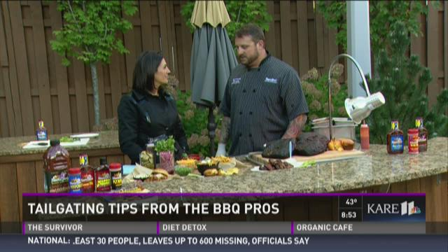 Tailgating tips from the barbecue pros