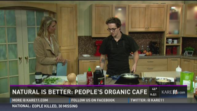 Natural is better: People's Organic Cafe