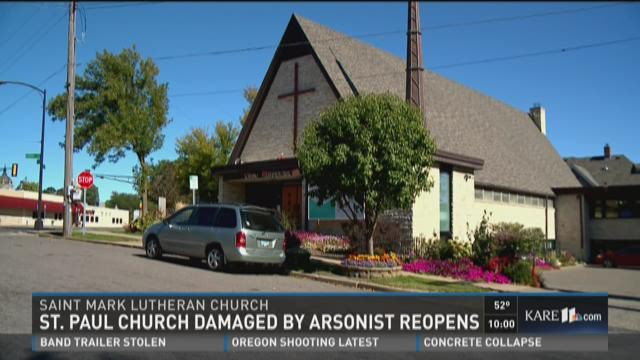 St. Paul church damaged by arsonist reopens