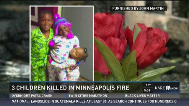 3 kids killed in house fire