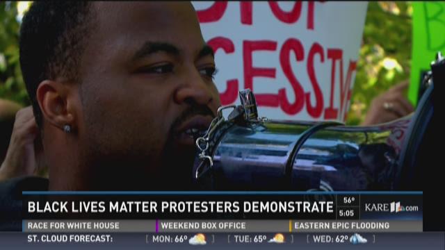 BLM Marathon Protest