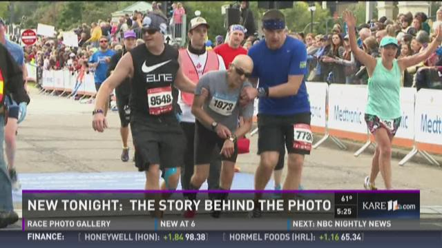 The story behind this TC Marathon photo