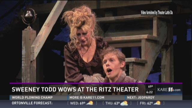 Sweeny Todd wows at the Ritz Theater