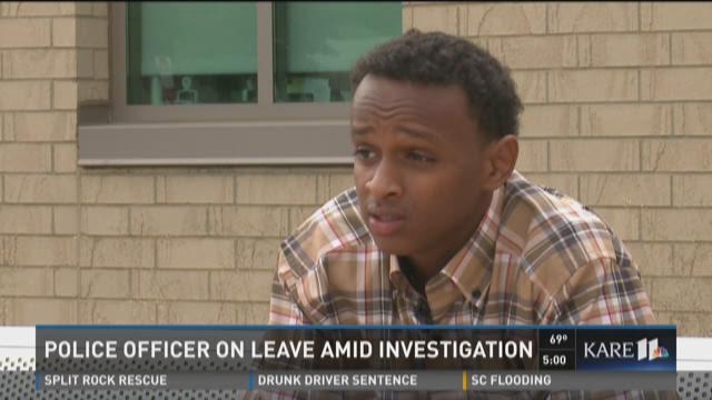 Richfield officer on leave