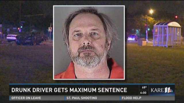 Drunk driver gets maximum sentence