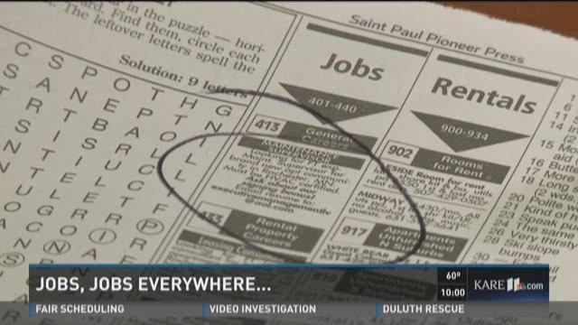 Jobs, jobs everywhere...