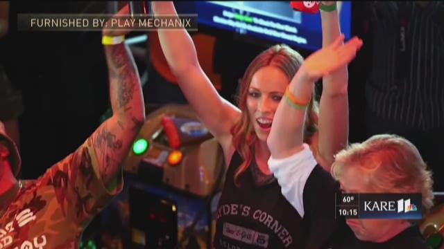 'Big Buck Hunter' world champ is star of her bar