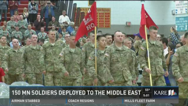 150 MN soldiers deployed to Middle East