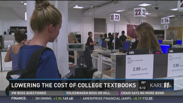 Cost of college textbooks
