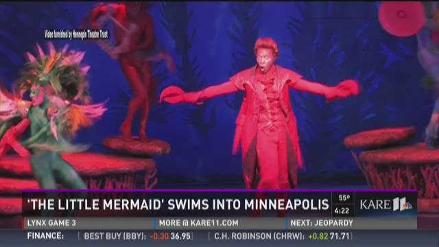 'The Little Mermaid' swims into Minneapolis
