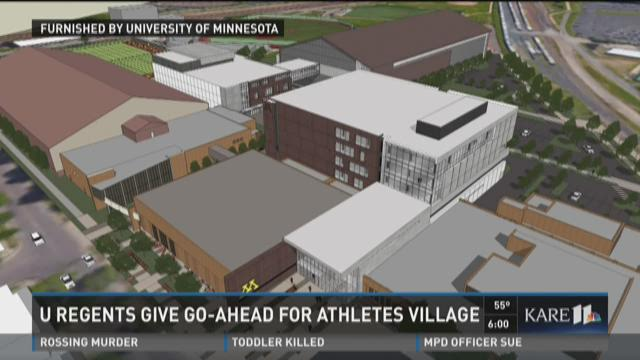 U Board of Regents approves %24166M Athletes Village
