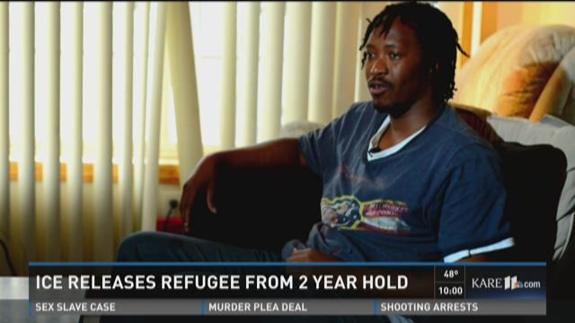 Ex-child soldier from Sierra Leone freed in Minnesota