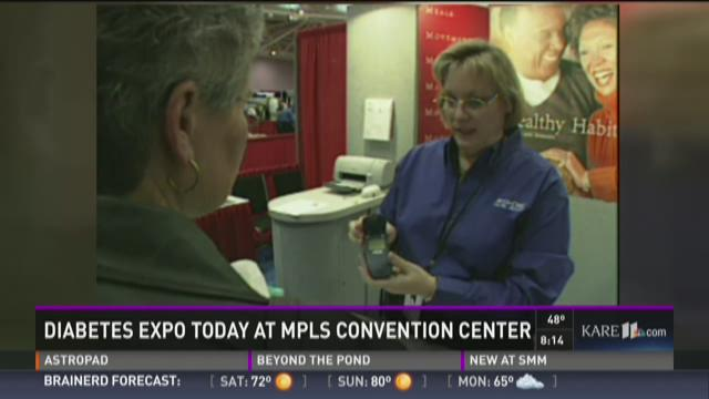 Diabetes Expo at Minneapolis Convention Center