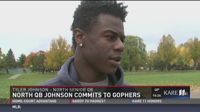 North QB Johnson commits to Gophers