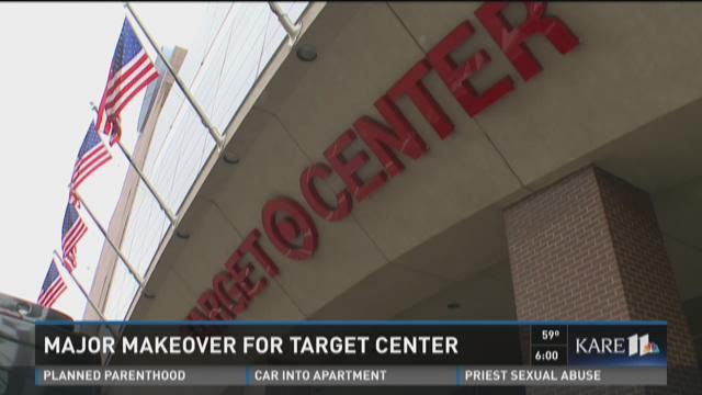 Major makeover for Target Center