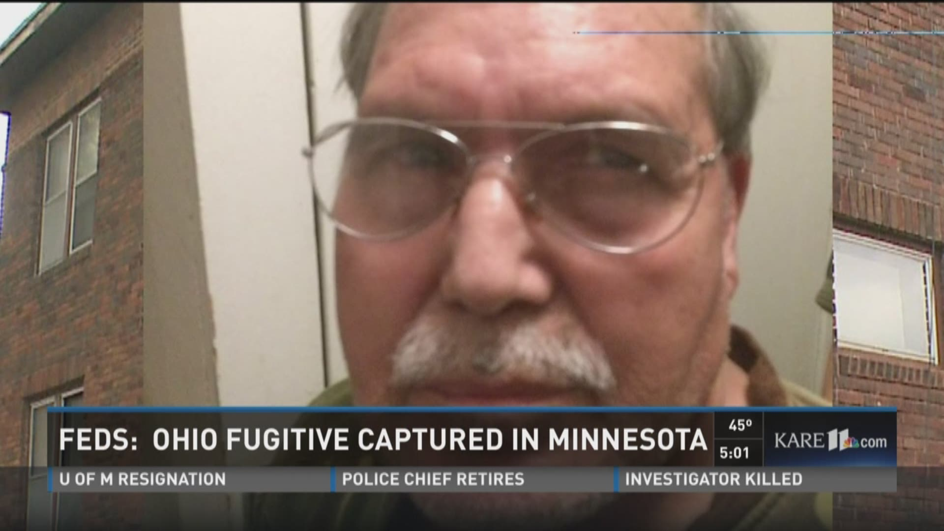 Ohio fugitive captured in Minnesota