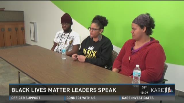 Black Lives Matter MPLS leaders speak up