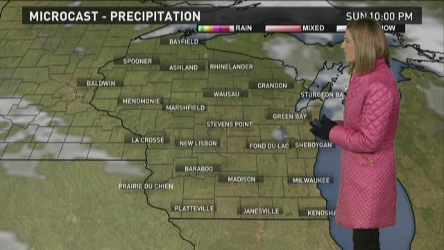 Wisconsin forecast 11-28-15