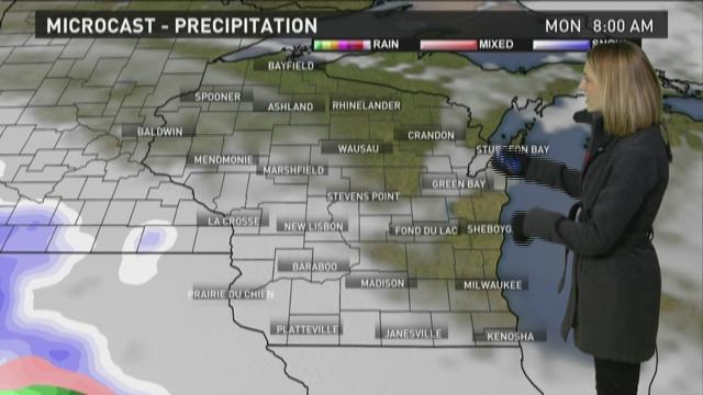 Wisconsin weather forecast for Sunday, Nov. 29
